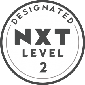 NXT Level 2 Designation Badge